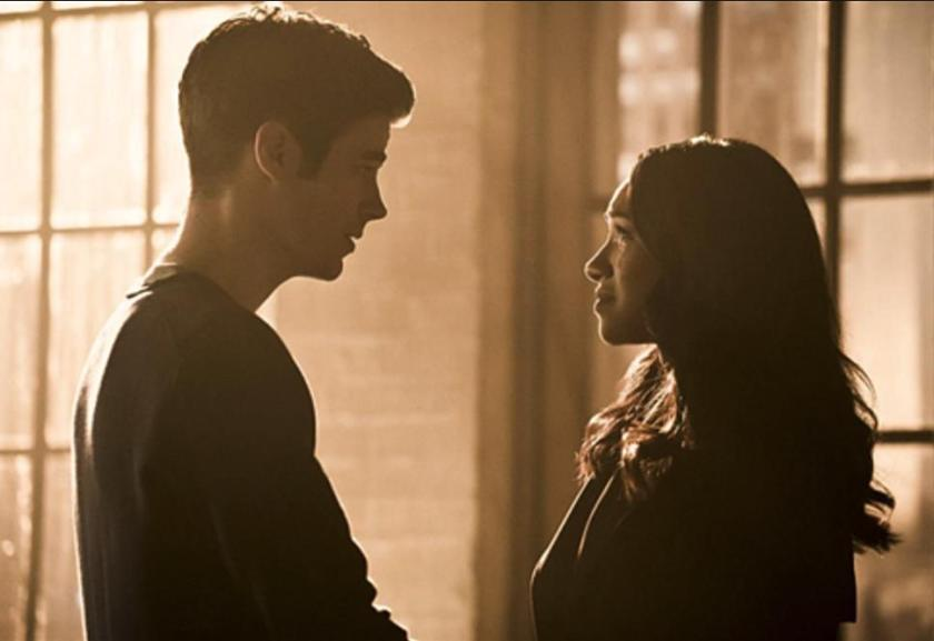 Barry and Iris