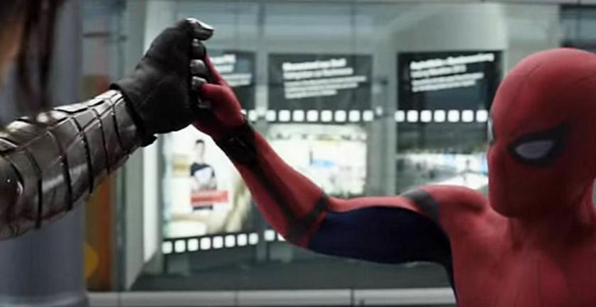 Bucky vs Spiderman