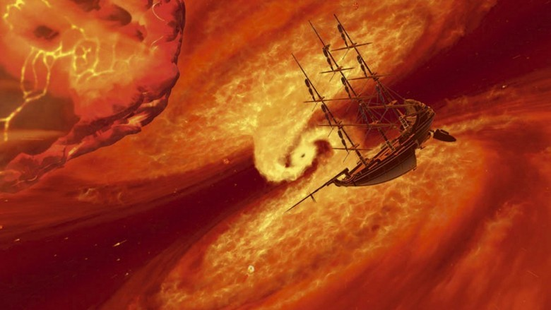 treasure planet fire