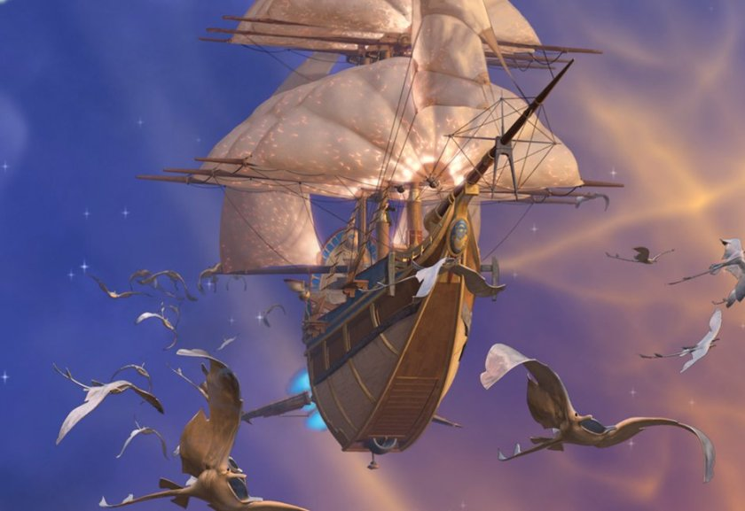 treasure planet ship