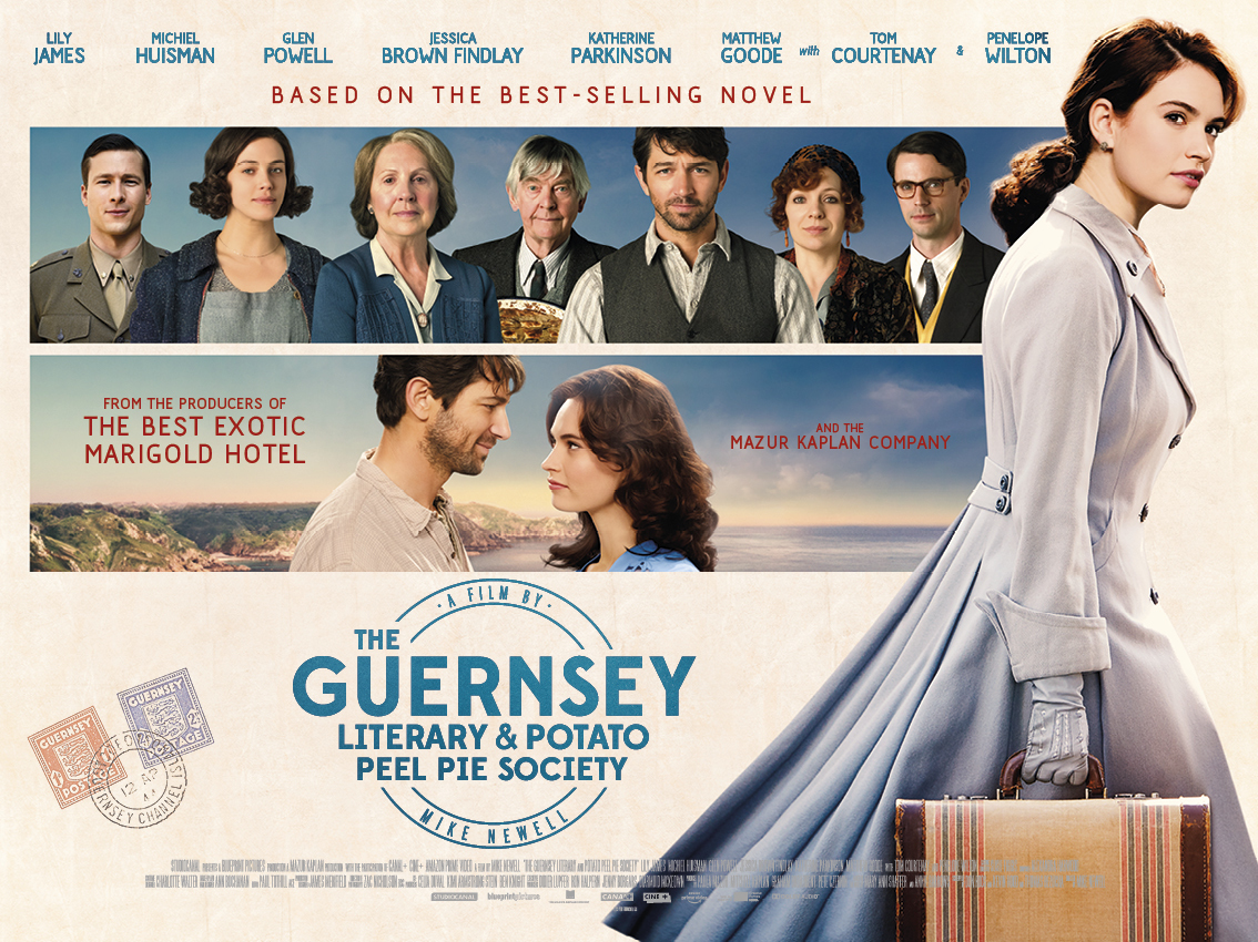 Netflix: The Guernsey Literary and Potato Peel Pie Society