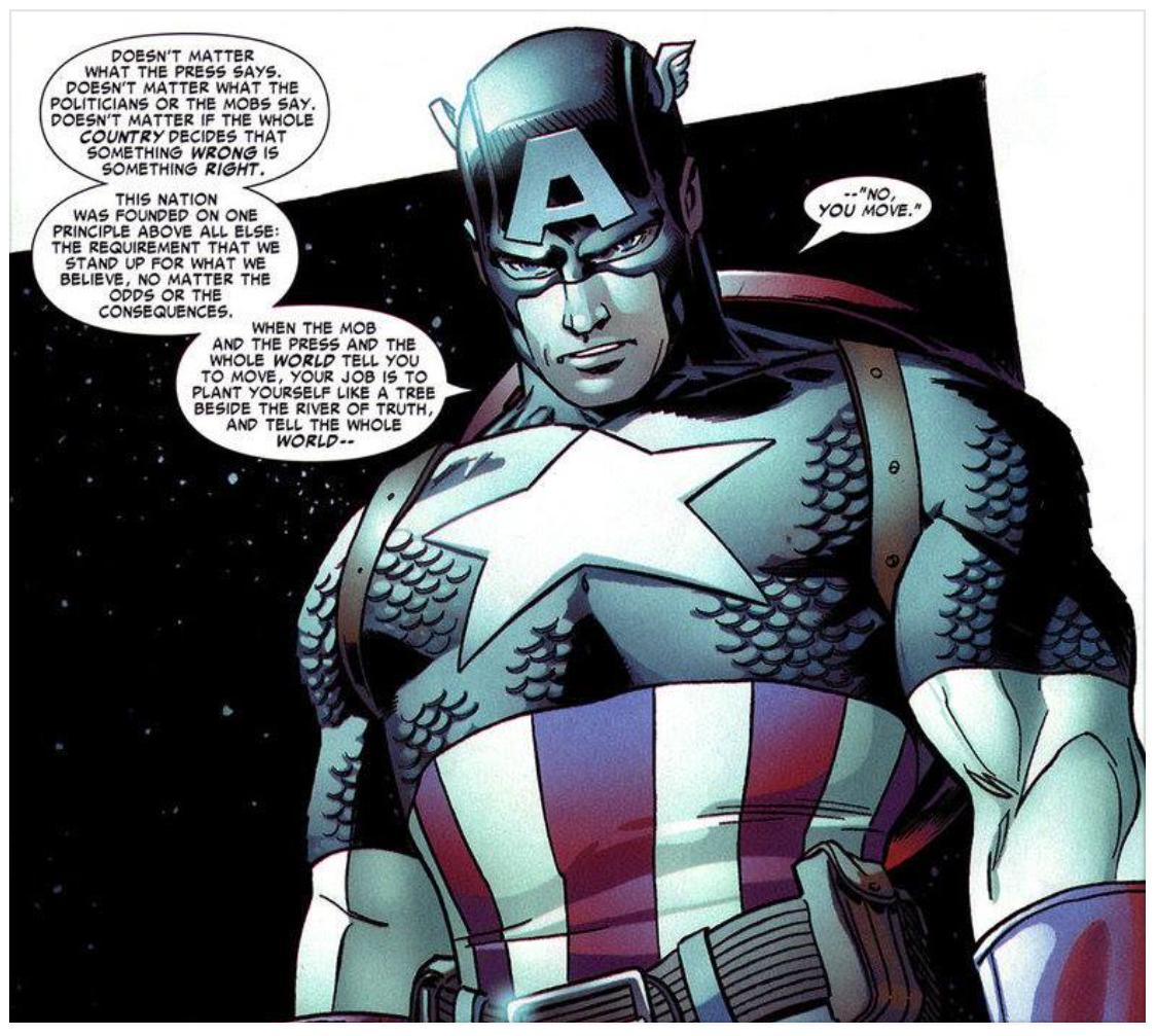 Captain America Quote 1