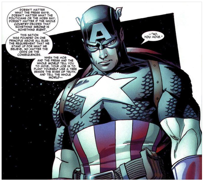 Captain America Quote 1