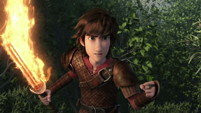 hiccup a warrior