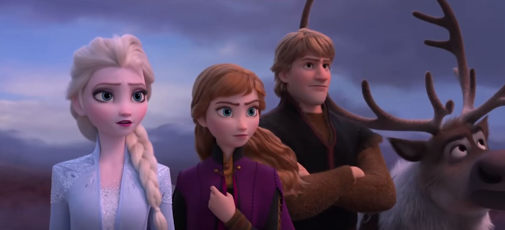 our big three and sven frozen
