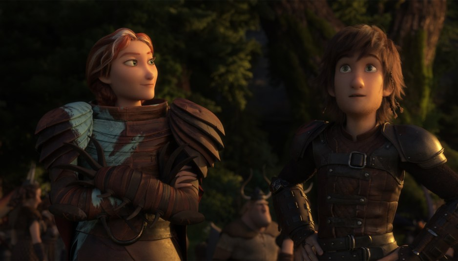 hiccup and his mother