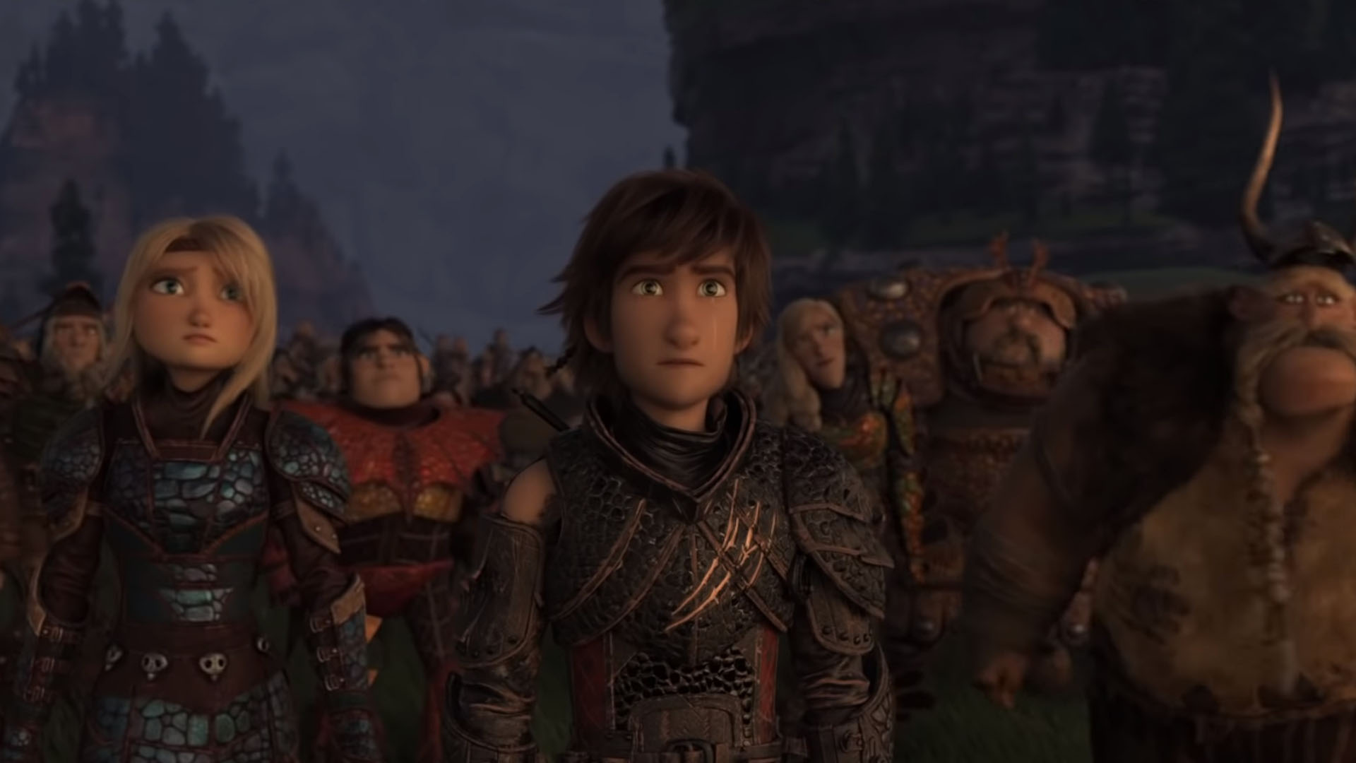 hiccup saying goodbye