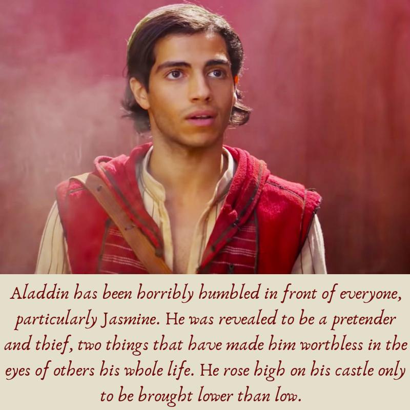 Aladdin humbled
