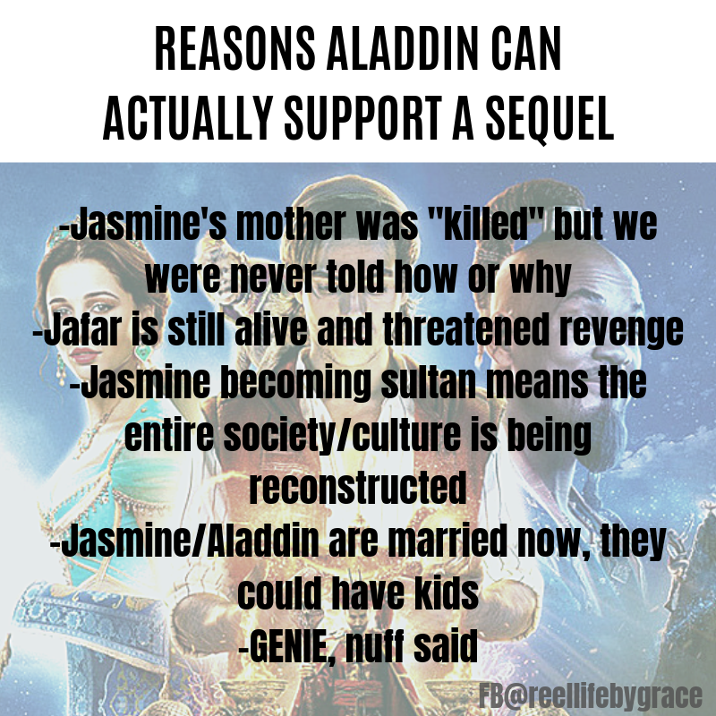 REASONS ALADDIN CAN ACTUALLY SUPPORT A SEQUEL