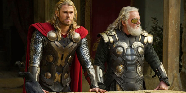 thor and his father