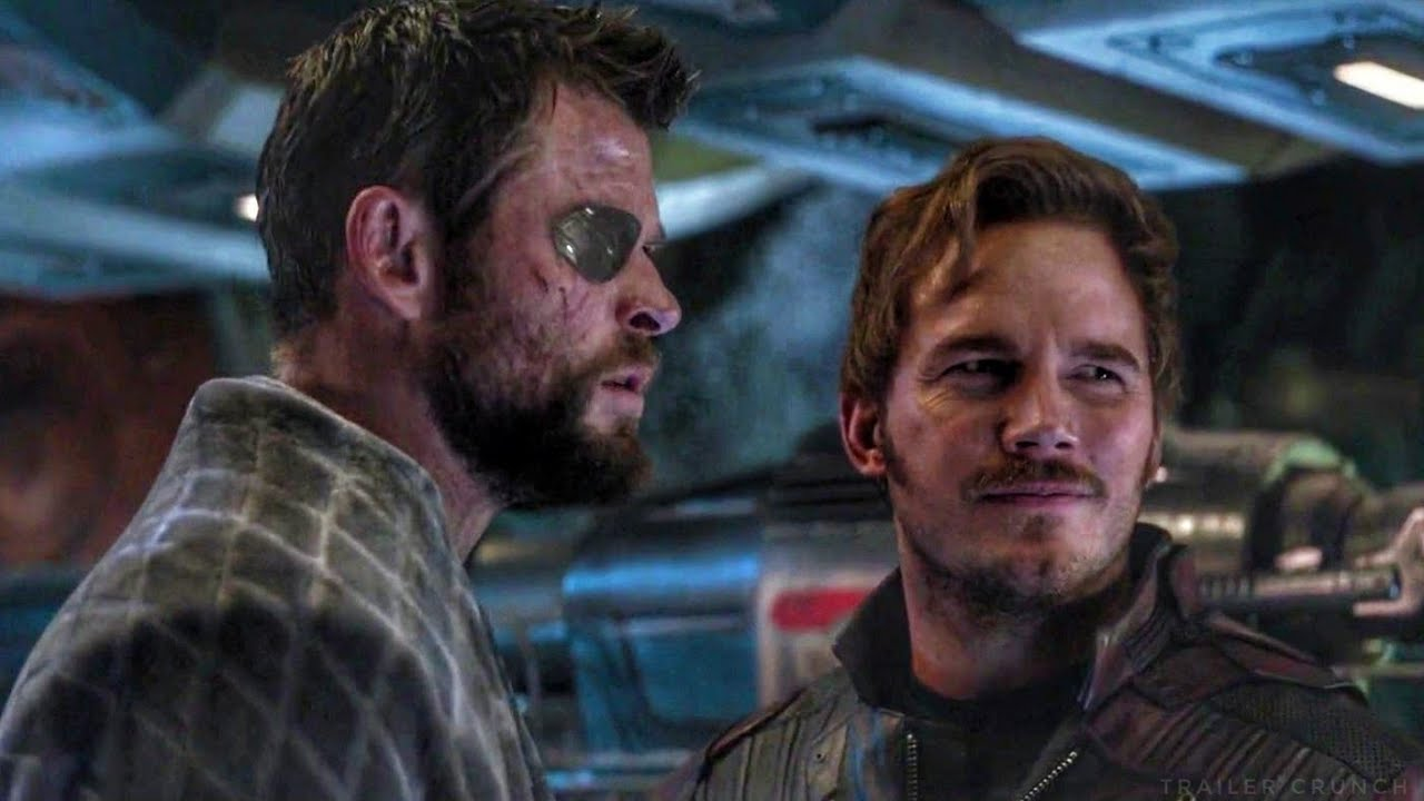 thor and starlord