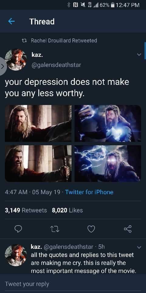 thor depression