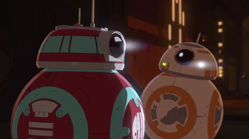 bb8 and his girl