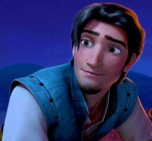 flynn rider kind face