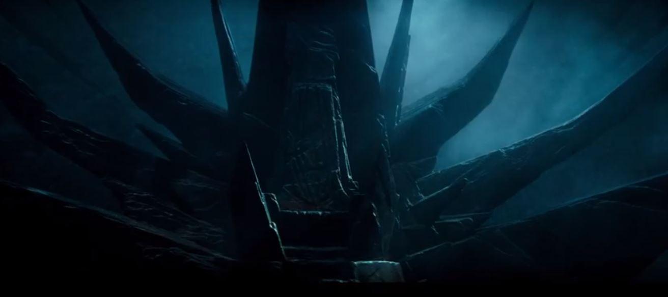 creepy throne
