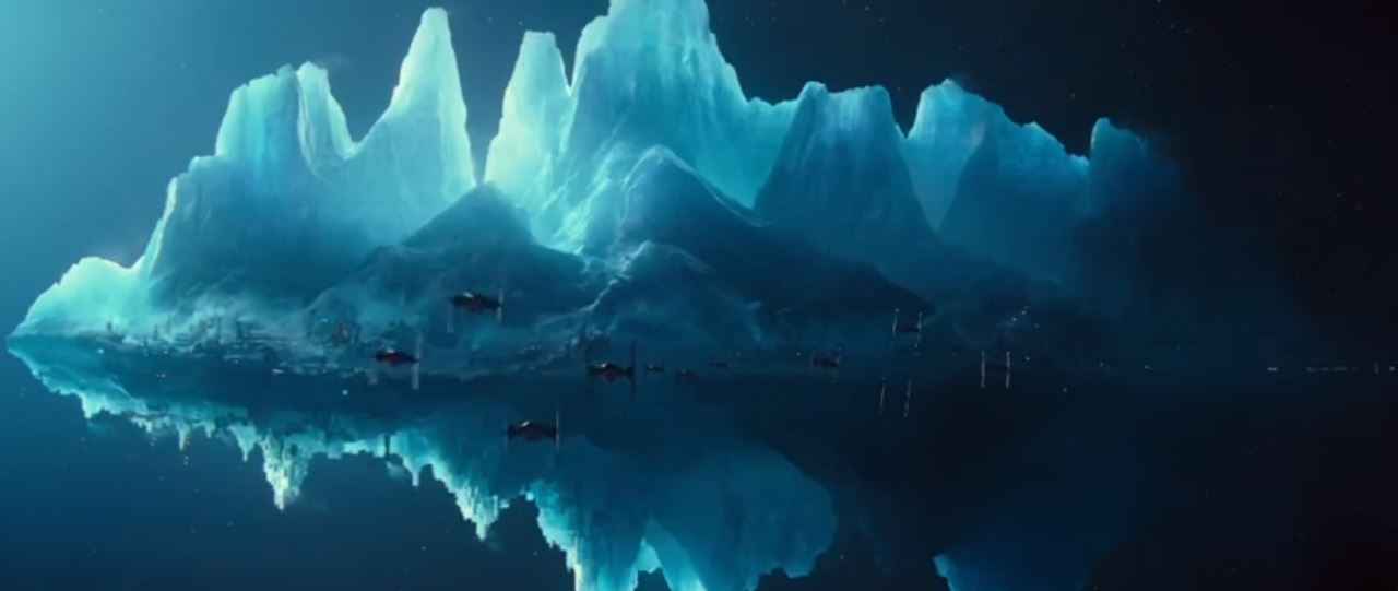 iceberg star wars